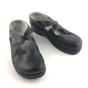 Klogs Carolina Leather Non Slip Clogs Size 11